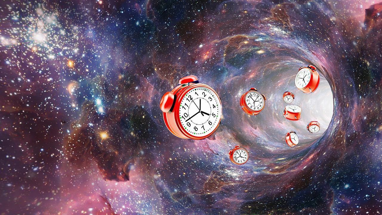 時空と真空と時計