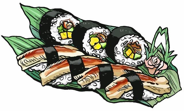 穴子の寿司など