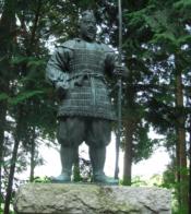 坂上田村麻呂の像
