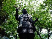 徳川家康の像