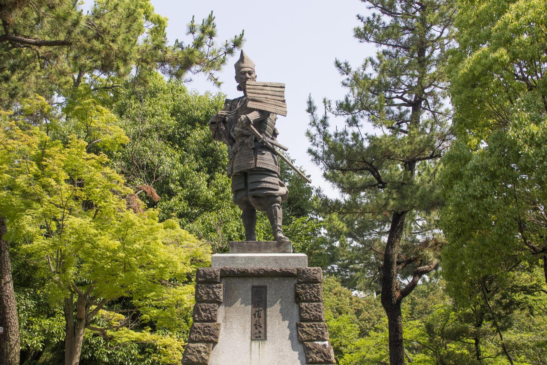 織田信長の像