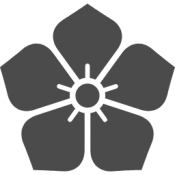 明智光秀の桔梗の家紋アイコン