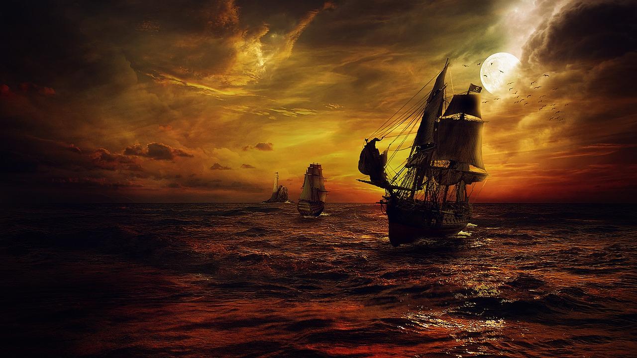 海の上での決戦