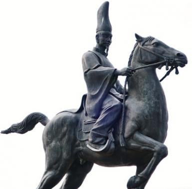 平将門の像