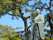 善通寺の弘法大師(空海)の像