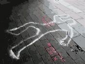 死体現場の様子