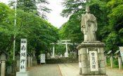 松平定信の像