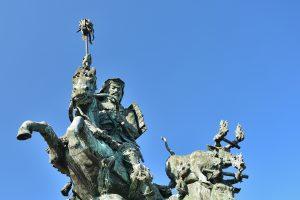 北条早雲の像