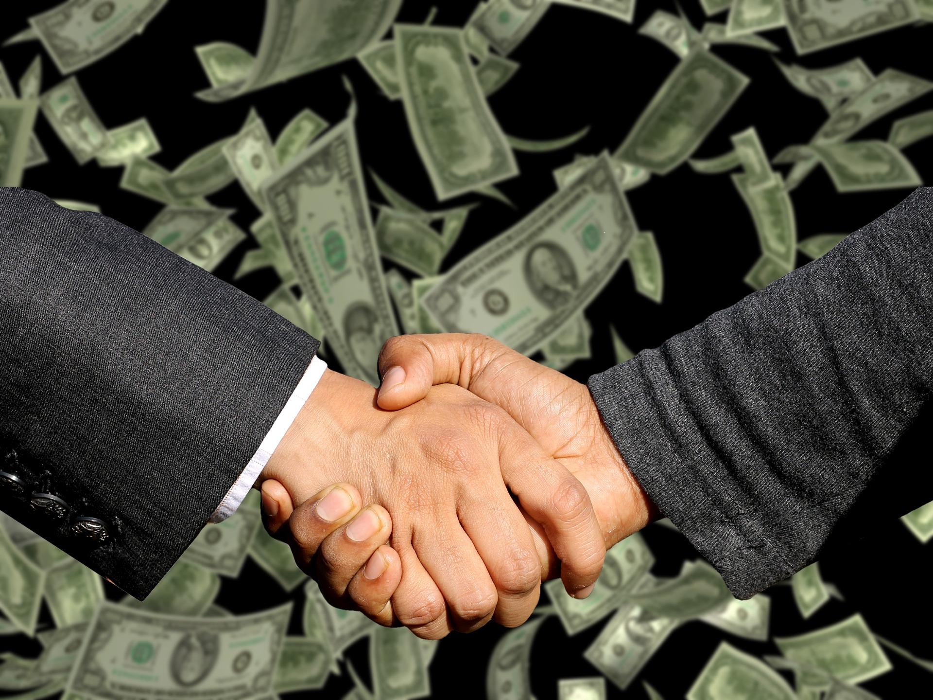 条約と賠償金の雨
