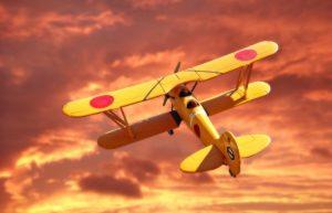 第一次世界大戦の九五式一型練習機
