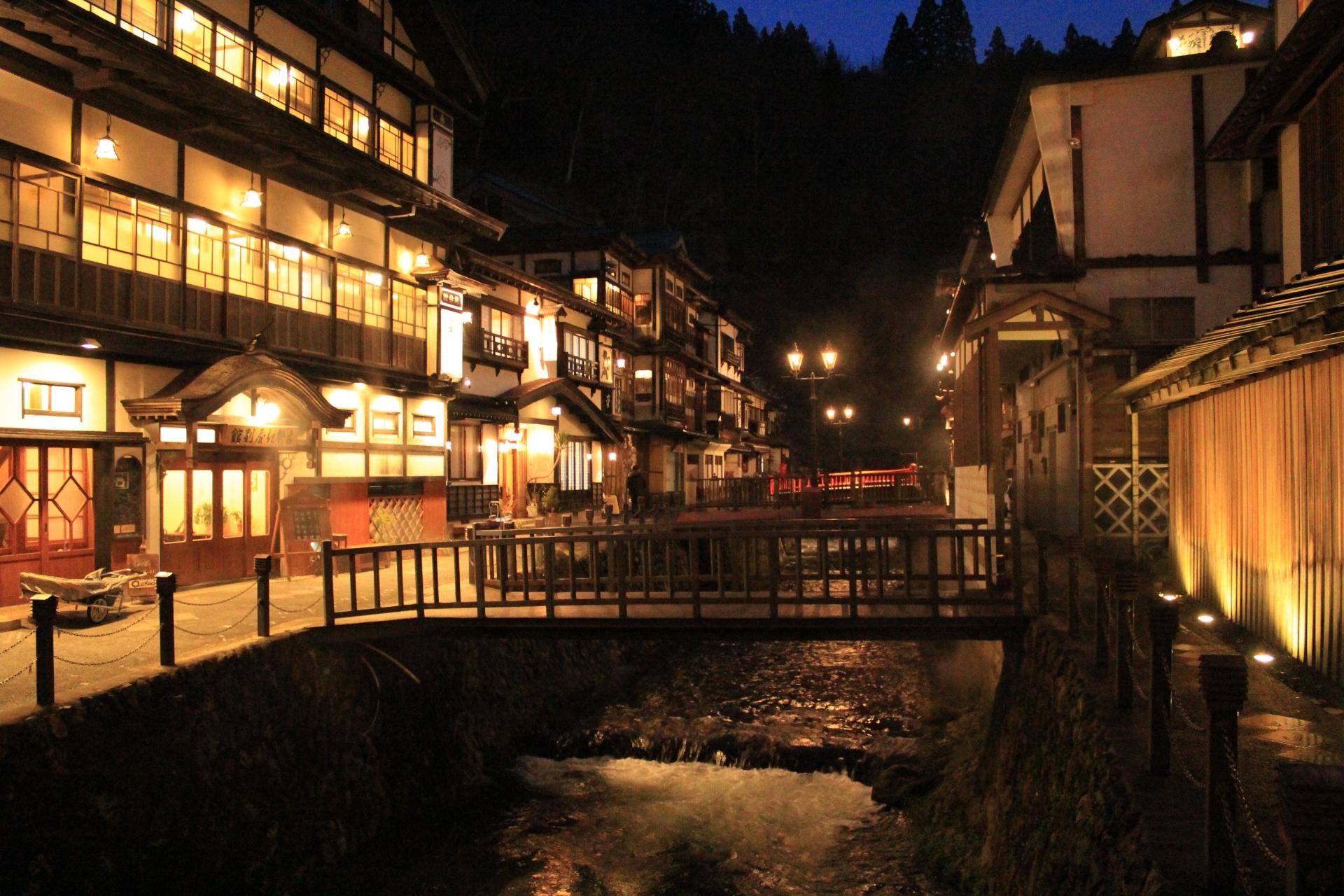 銀山温泉(山形県)