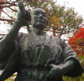 山岡鉄舟の像