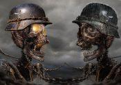 2つの骸骨