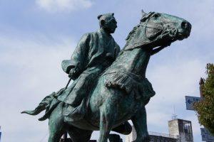 徳川吉宗の像