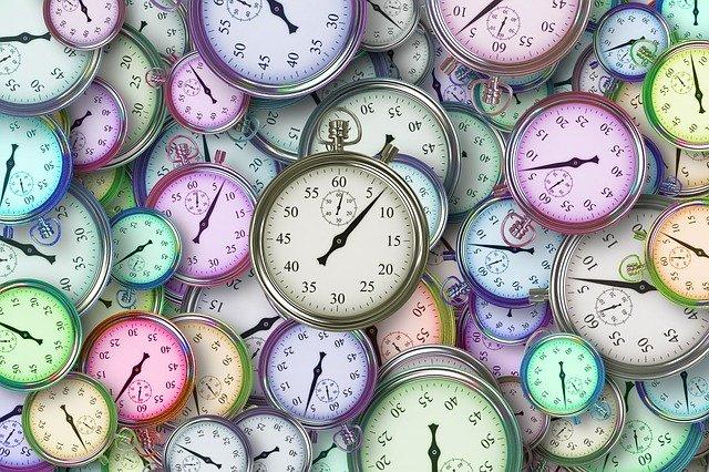 たくさんの時計たち