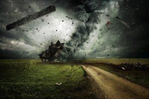 「台風(たいふう)」の語源や由来