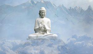 ありがとうと心の中でいっている仏像さま